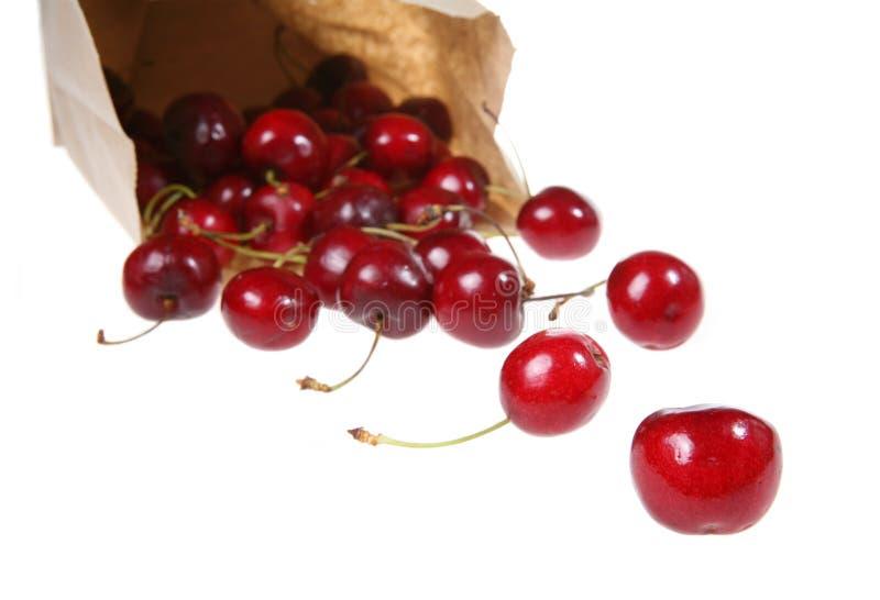 вишни мешка стоковые фото