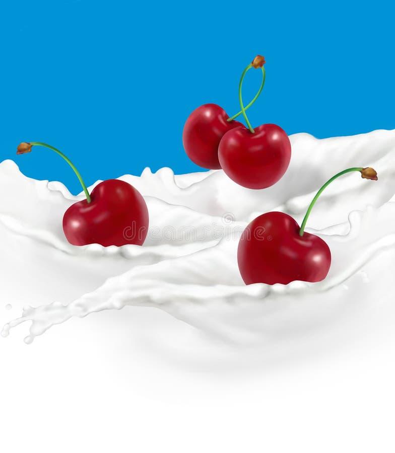 вишни бесплатная иллюстрация