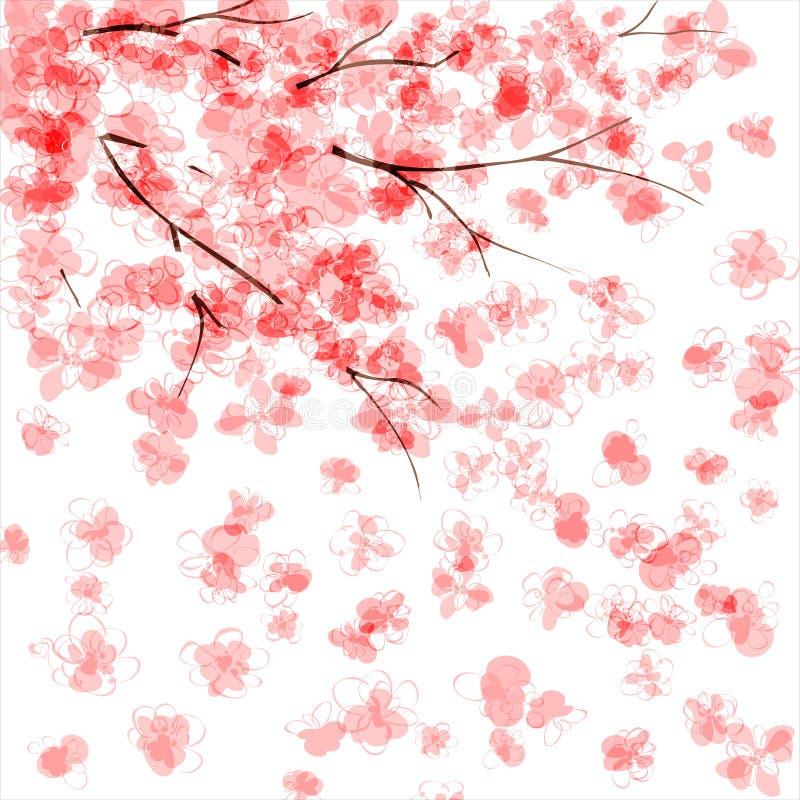 вишня цветения бесплатная иллюстрация