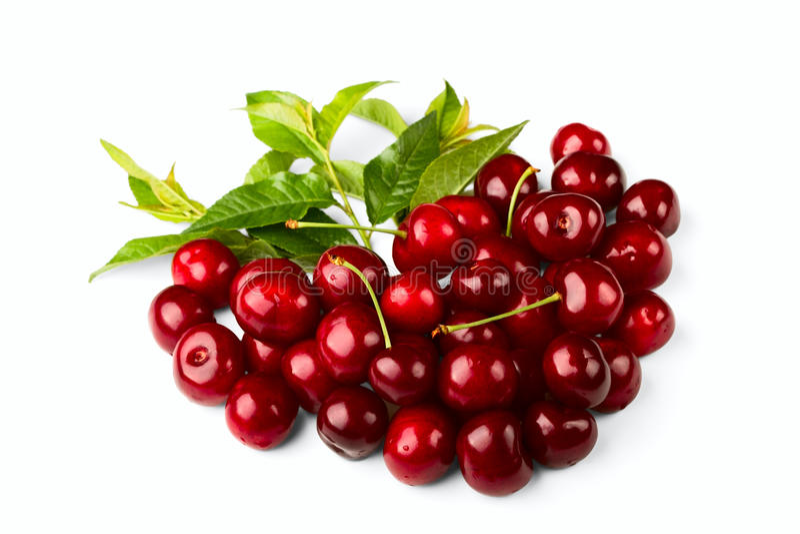 вишня fruits помадка стоковое фото rf