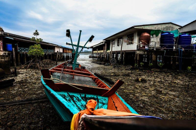 Вилла проживания в семье на малом острове стоковые фото