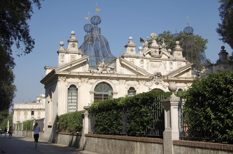 Вилла Borghese стоковое фото rf