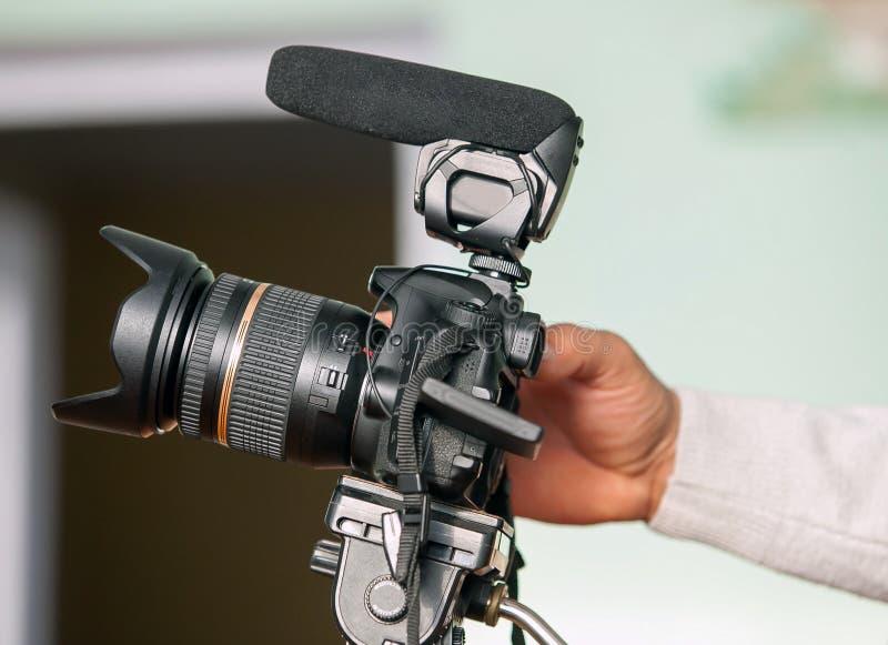 Видеокамера стоковые фотографии rf