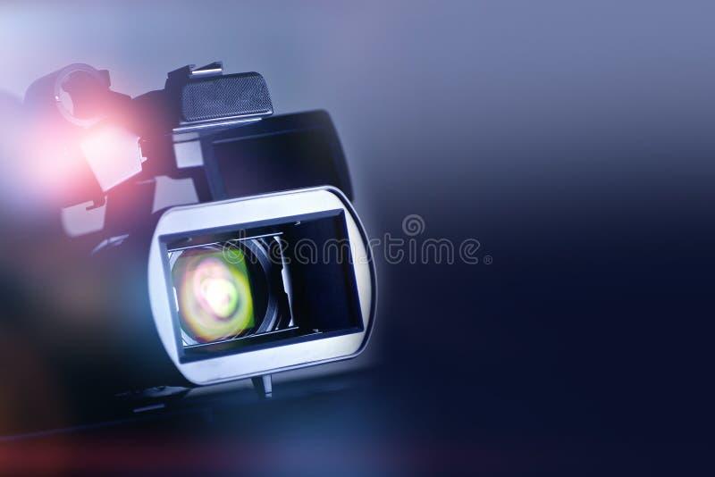 Видео- киносъемк Backgrund стоковые изображения