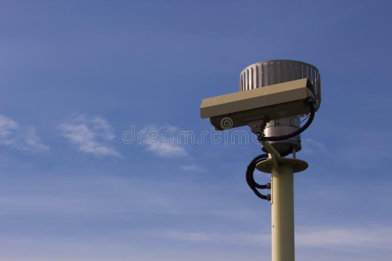 Видео наблюдения безопасностью камеры Cctv стоковые фото