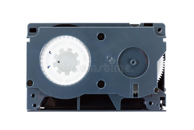 Видео- патроны VHS-c на белой предпосылке стоковые фото