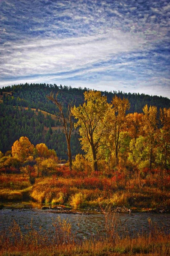 Вилка Clark, Монтана стоковые фото
