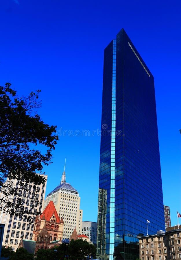Вид на город Бостона стоковое изображение