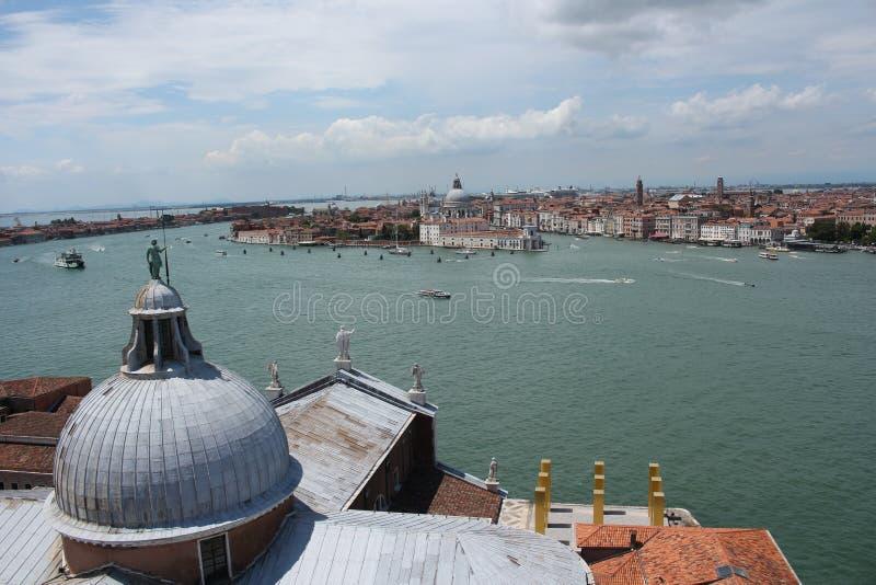 Вид на город Венеции стоковая фотография
