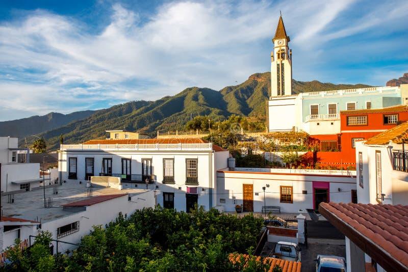 Вид на город Эль-Пасо стоковые фото