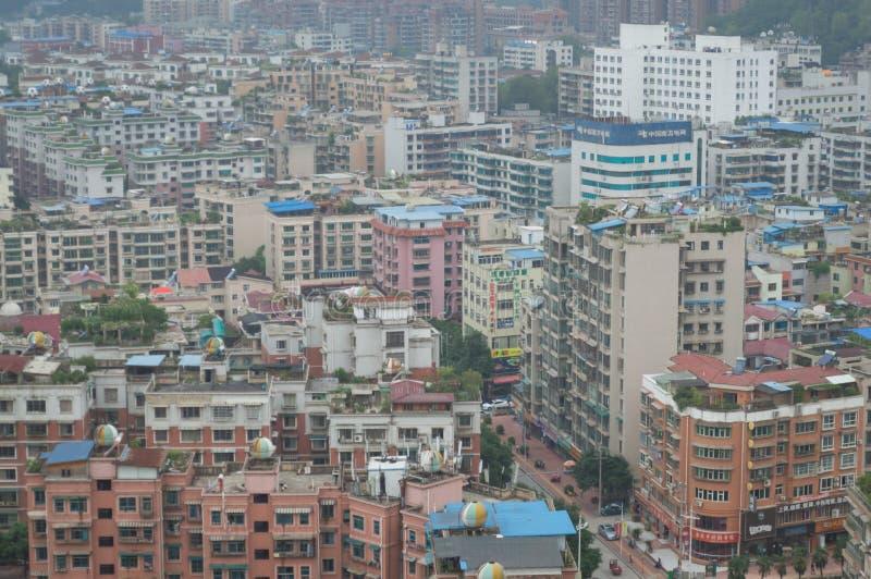 Вид на город villege Китая города guiyang 8 туризма стоковое фото rf