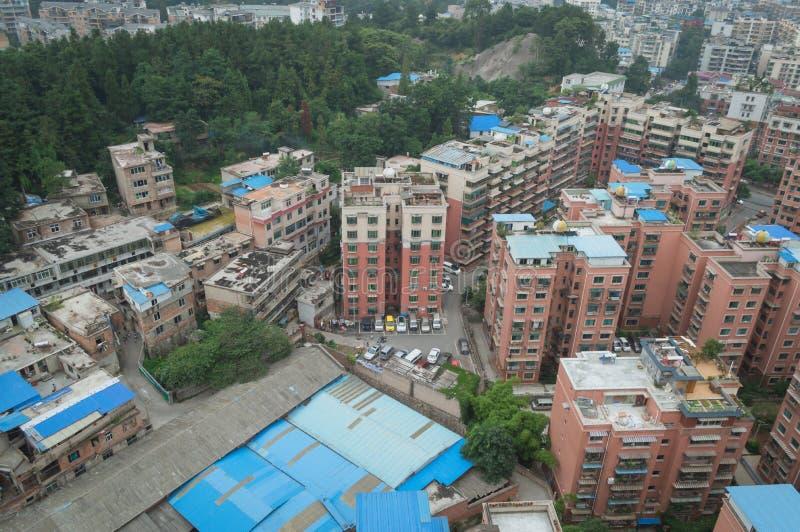 Вид на город villege Китая города guiyang 10 туризма стоковые фотографии rf