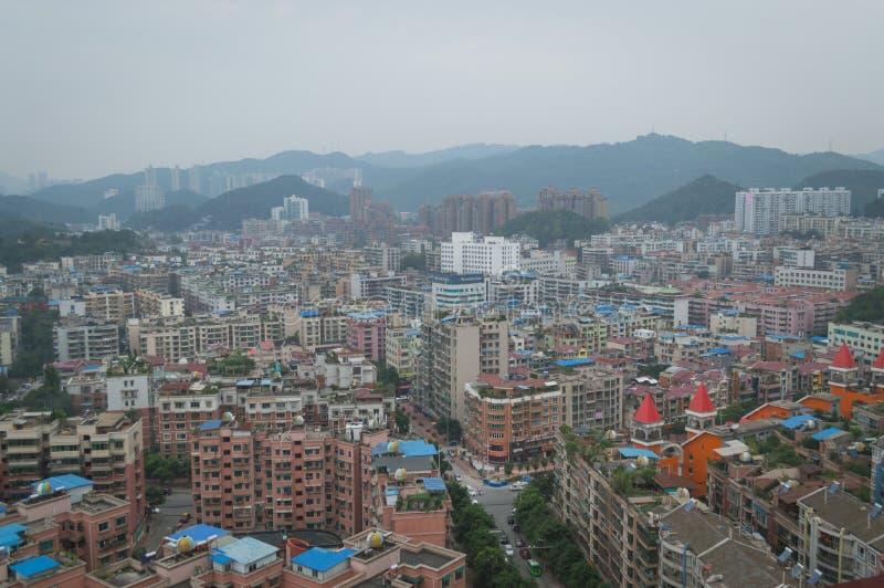 Вид на город villege Китая города guiyang 12 туризма стоковые фотографии rf