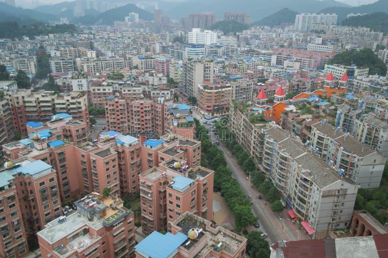Вид на город villege Китая города guiyang 15 туризма стоковое изображение rf