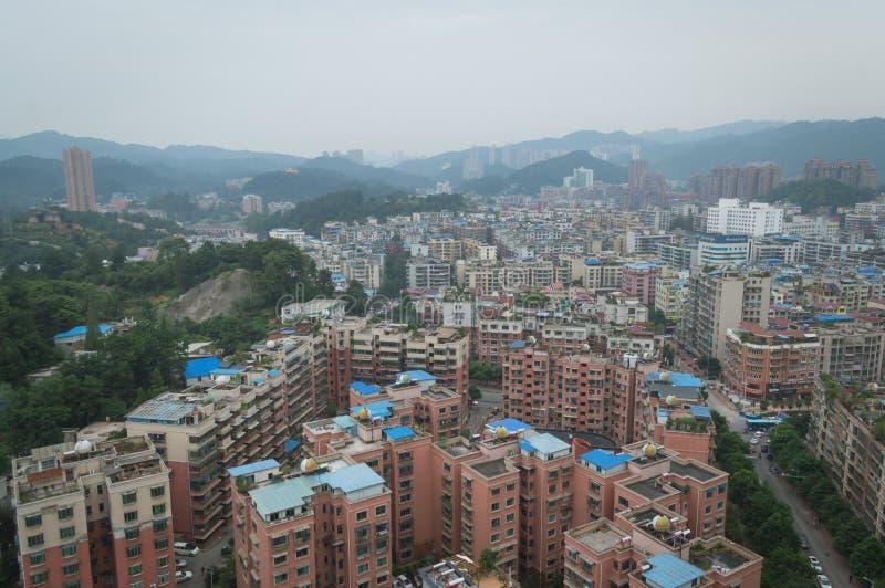 Вид на город villege Китая города guiyang 17 туризма стоковые изображения rf
