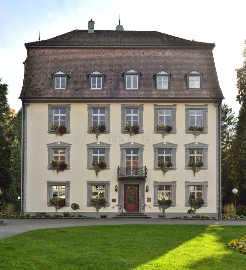 Вид спереди старой гостиницы от города Stein стоковые фото