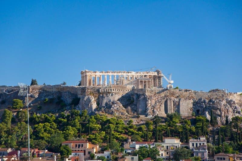 Download Вид с воздуха акрополя Афин. Греция. Стоковое Фото - изображение насчитывающей athene, греческо: 37927158