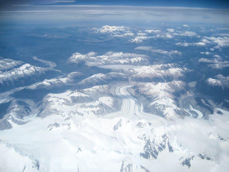 Вид с воздуха Анд стоковое фото rf