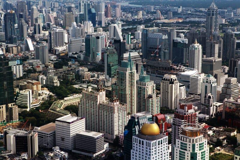 Вид с воздуха Бангкока на декабря стоковая фотография rf