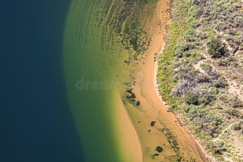 Вид с воздуха Колорадо стоковые фото