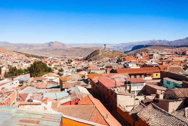 Вид с воздуха Potosi стоковое фото