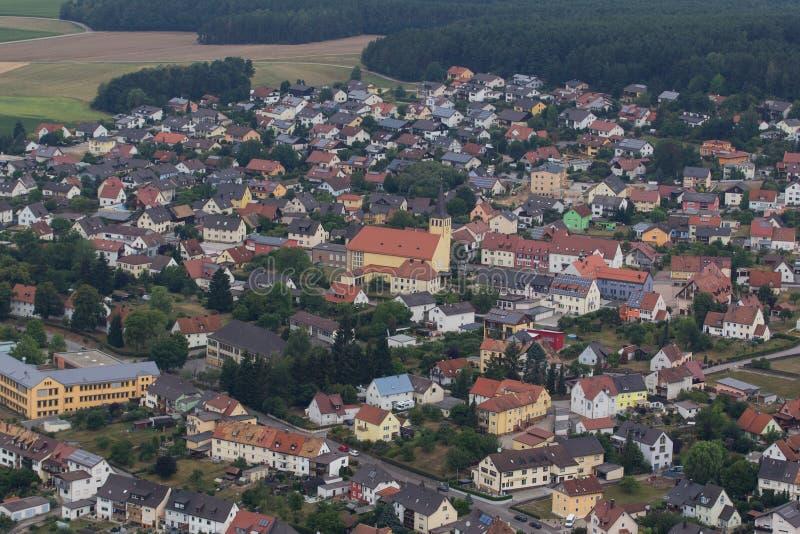 Вид с воздуха Wackersdorf стоковые фотографии rf