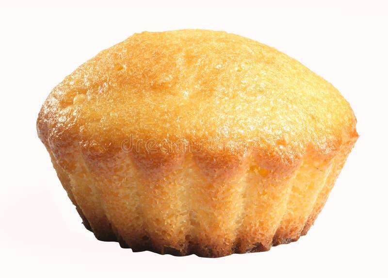 Вкусная булочка на белой предпосылке стоковое фото rf