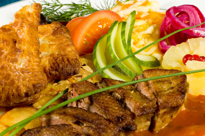 вкусная еда 6 стоковая фотография rf