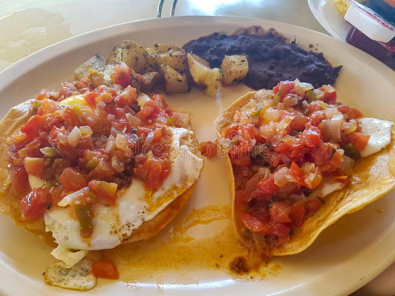 Вкусная мексиканская кухня в Юкатан, Мерида стоковая фотография rf