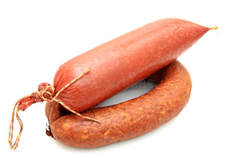 Вкусная сосиска стоковое фото
