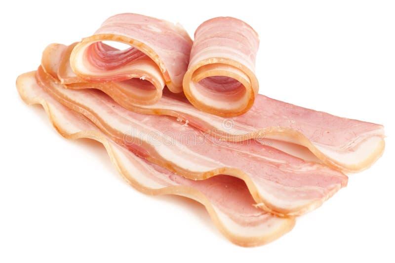 вкусное бекона отрезанное свининой стоковые изображения