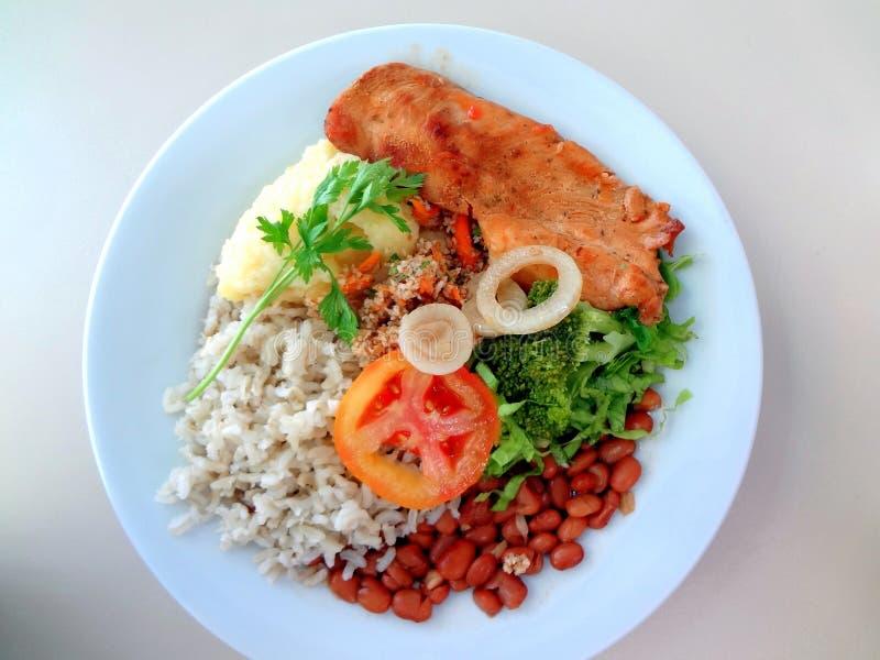 Вкусное бразильское блюдо стоковая фотография rf