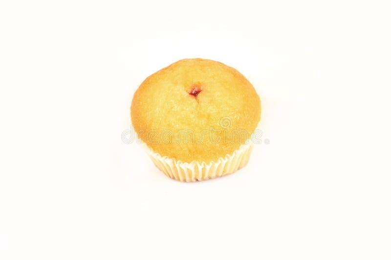 Вкусные торты булочки, изолированные на белой предпосылке стоковое изображение
