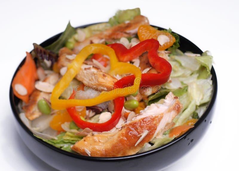 вкусный здоровый салат стоковые фотографии rf