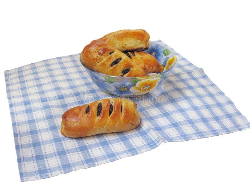 вкусный мак пирожков стоковое фото rf