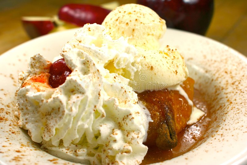 вкусный обед fruity стоковое изображение