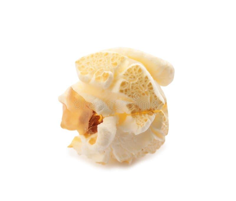 Вкусный свежий попкорн на белой предпосылке стоковая фотография