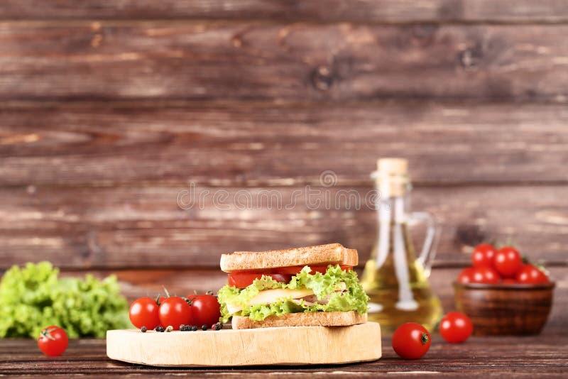 Вкусный сэндвич стоковая фотография rf