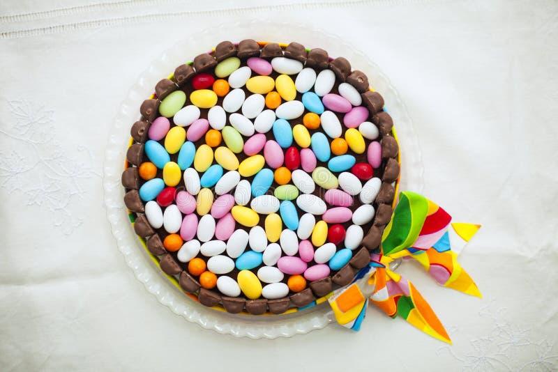 Вкусный торт пасхи стоковые изображения rf