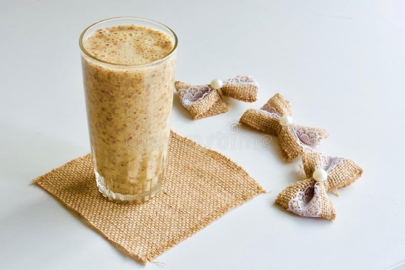 Вкусный smoothie дыни стоковое изображение
