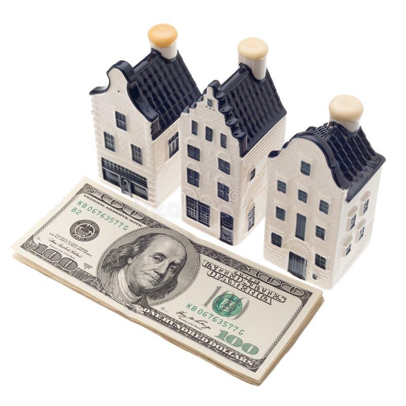Вклад и финансы недвижимости стоковая фотография rf