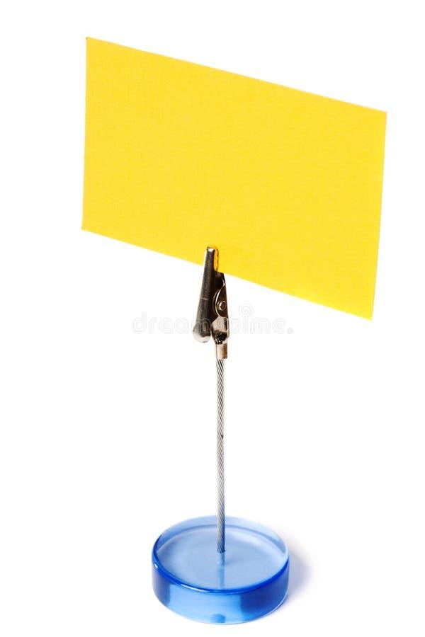 владельец карточки стоковые изображения rf
