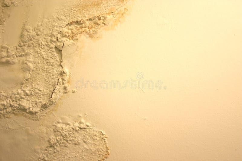 влажное шелушение краски стоковая фотография