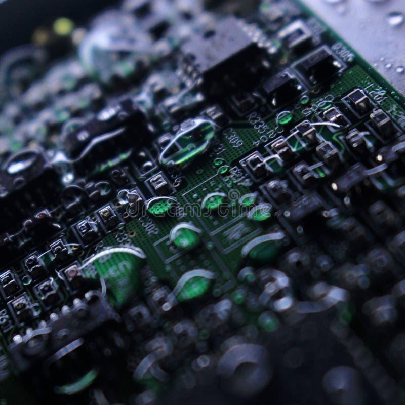 Влажный жесткий диск стоковые изображения rf