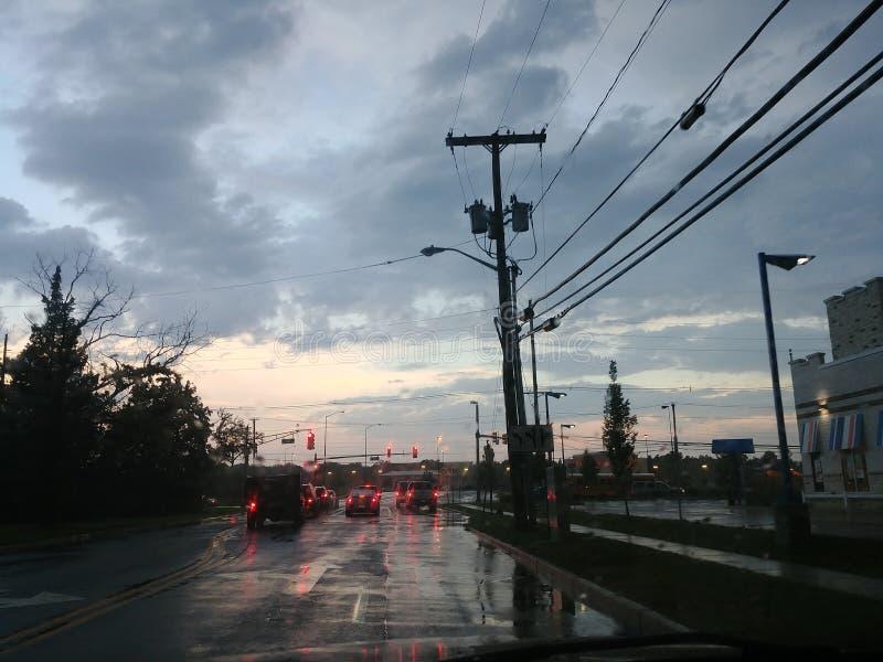 Влажный свет стоковое фото rf