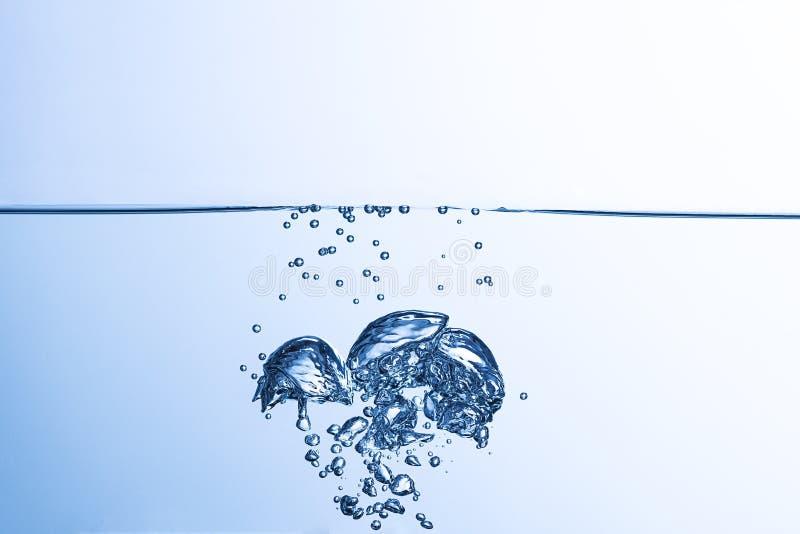 Влияние подачи воды стоковая фотография rf