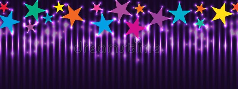 Влияние RGB знамени звезды красочное верхнее бесплатная иллюстрация