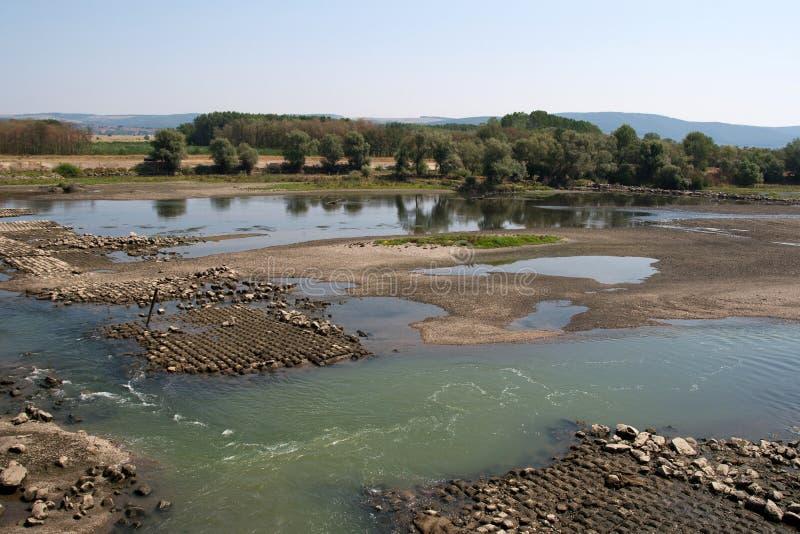 Влияния засухи стоковая фотография rf
