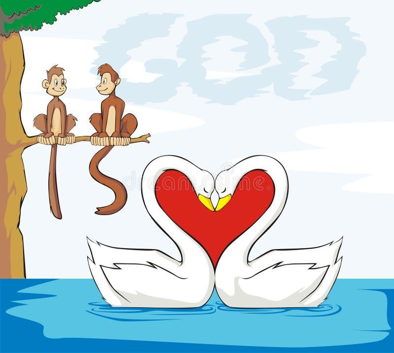 влюбленность бога бесплатная иллюстрация