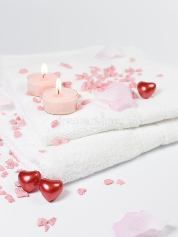влюбленность ванны стоковое изображение
